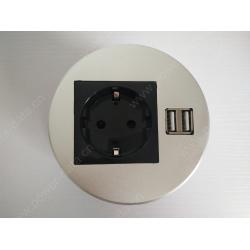Desk Round Power Data Unit