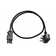 Power Cord UK plug to GST18/3 female